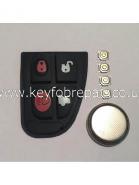 Jaguar X S Type 4 Button DIY Repair Or Refurbish Kit